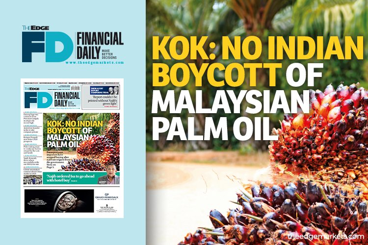 郭素沁:印度没有抵制大马棕油
